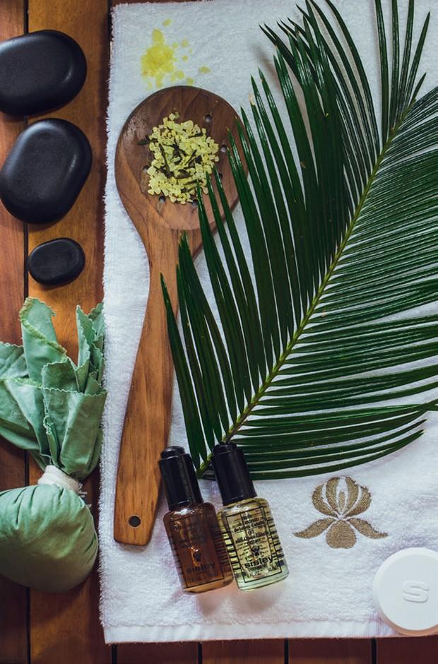 Produtos Sisley usados nos rituais (Foto: Divulgação e Reprodução Instagram)
