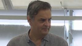 PGR cita 'relação espúria' de Aécio (Reprodução/TV Globo)