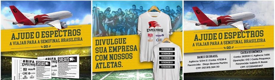 398e3fa660e86 ... Espectros lança campanha para arrecadar dinheiro e bancar ida a  Brasília
