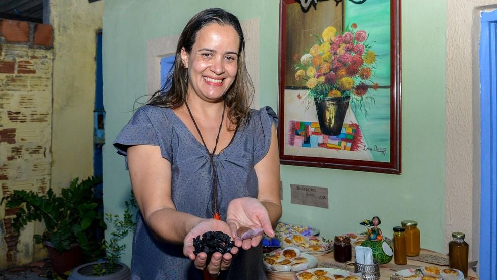Brigadeiro de jabuticaba ficou em 2º lugar em concurso gastronômico — Foto: Regiane Rocha/Prefeitura de Palmas