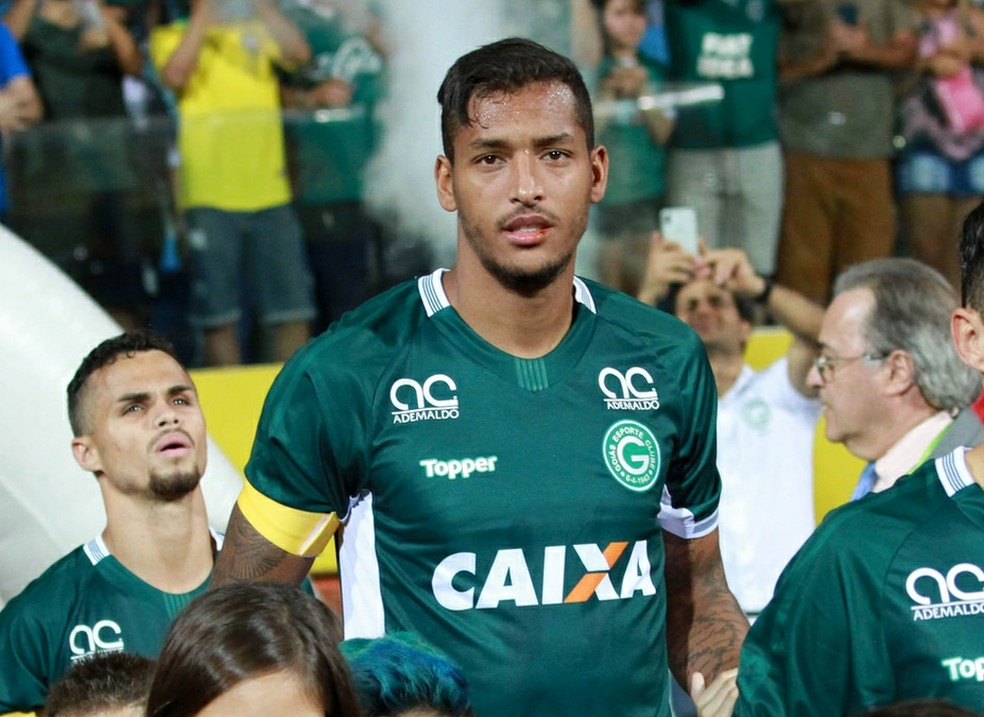 David Duarte tem 26 anos e jogou a carreira toda no Goiás — Foto: Rosiron Rodrigues/Goiás