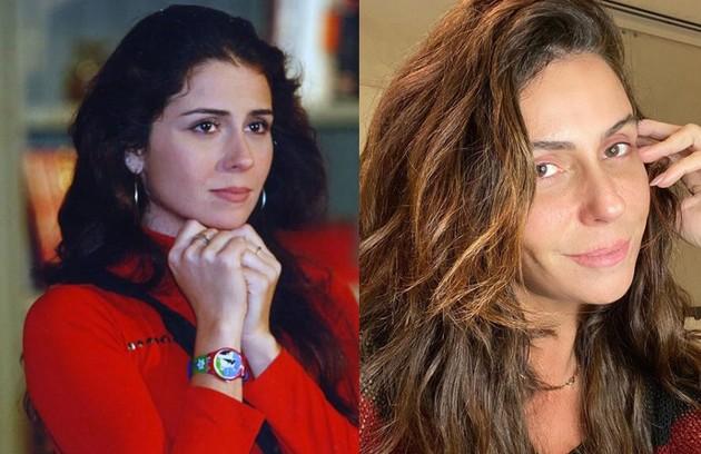 Giovanna Antonelli foi Capitu, uma garota de programa que se apaixonava por Fred (Luigi Baricelli), filho de Helena. A atriz está escalada como uma das protagonistas de 'A morte pode esperar', próxima novela das 19h (Foto: TV Globo / Reprodução)