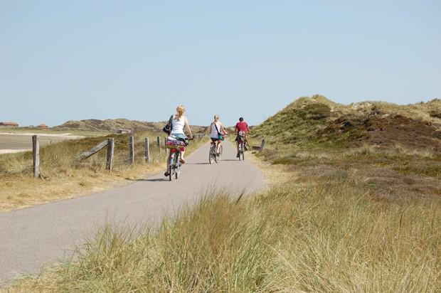Drei Radfahrer auf Sylt (Foto: Getty Images/iStockphoto)