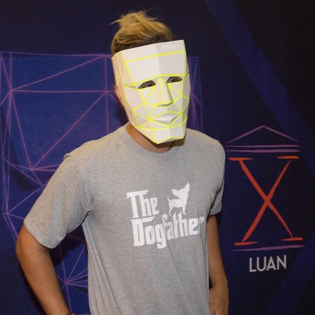 Luan Santana faz show em SP (Foto: Francisco Cepeda/AgNews)