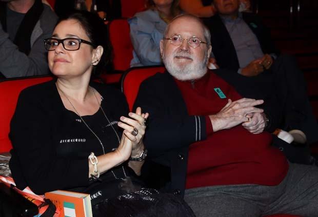 Jô Soares e Flávia Soares (Foto: Marcos Ribas/Brazil News)