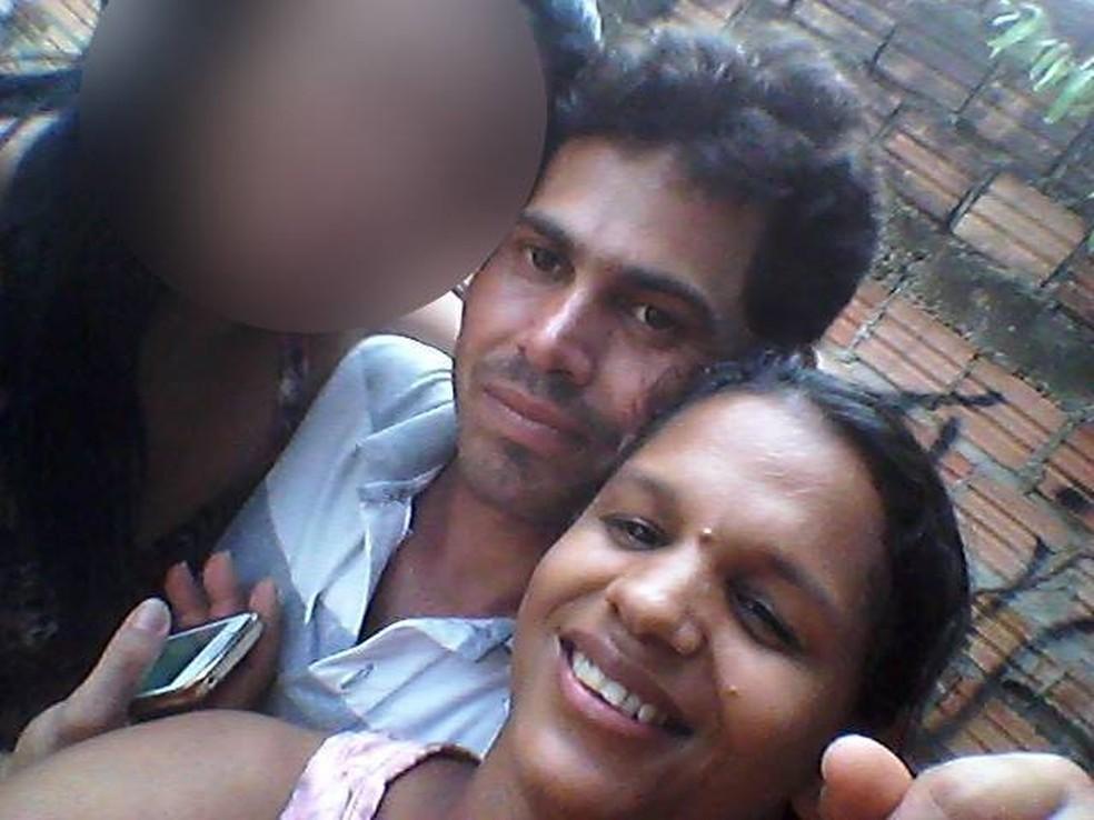 Jefetter de Jesus Bélem, de 37, foi morto; Cristiane da Silva Belém, de 35 anos, foi baleada e está internada — Foto: Facebook/Reprodução