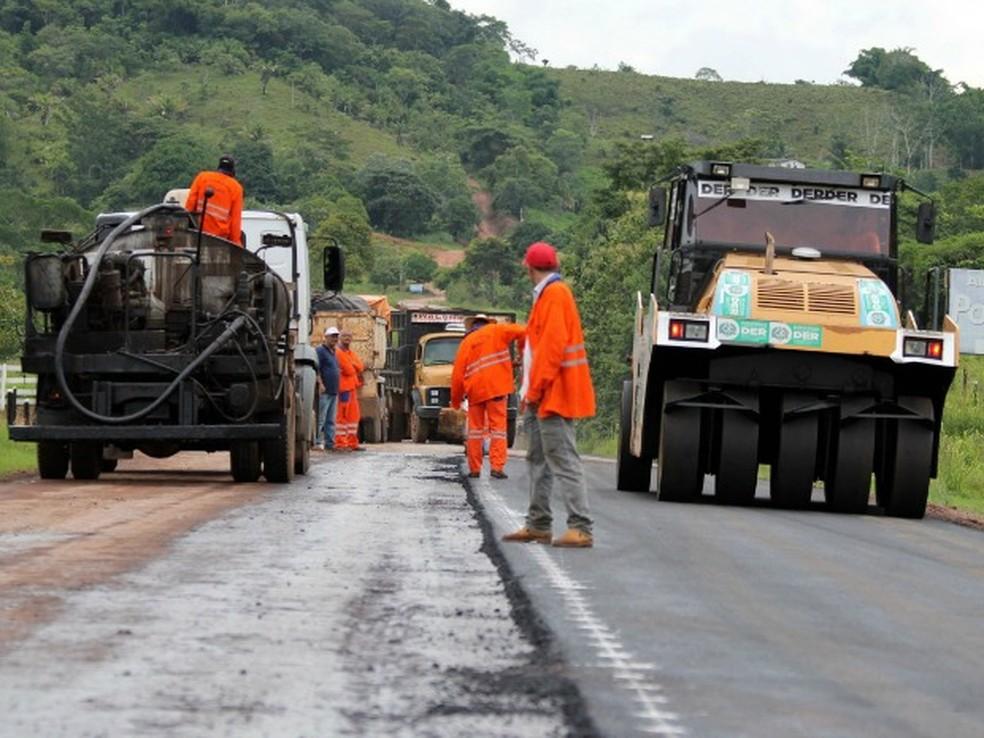 DER de Rondönia  — Foto: Secom/Assessoria Divulgação