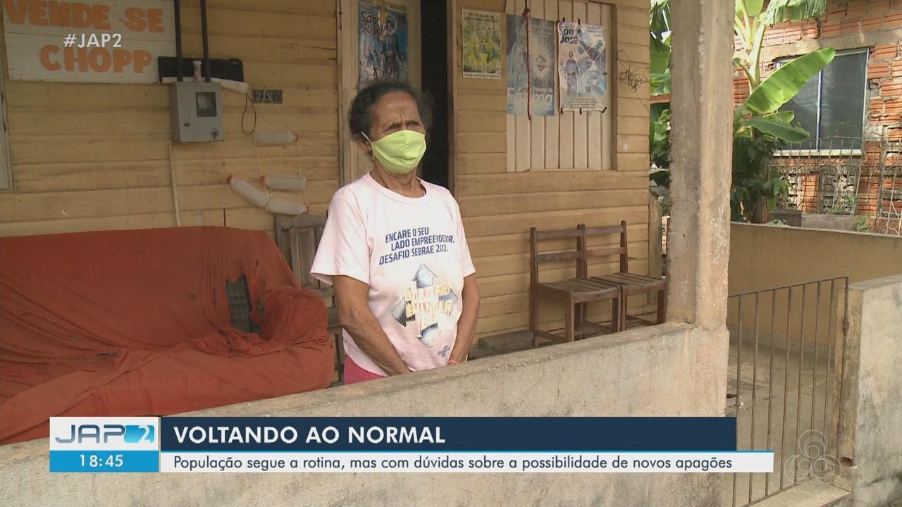 População retoma rotina, mas com dúvidas sobre possibilidade de novos apagões no Amapá