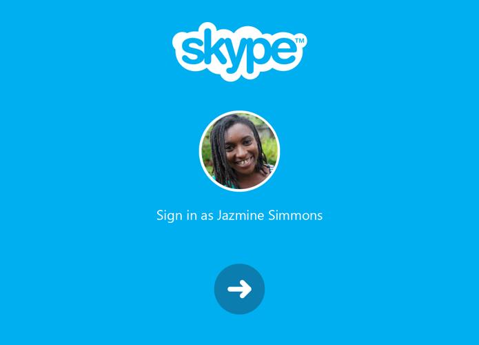 Skype para Android ganha login facilitado (Foto: Reprodução/Paulo Alves)