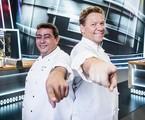 Batista e Claude Troisgros no 'Mestre do sabor' | Victor Pollak/TV Globo