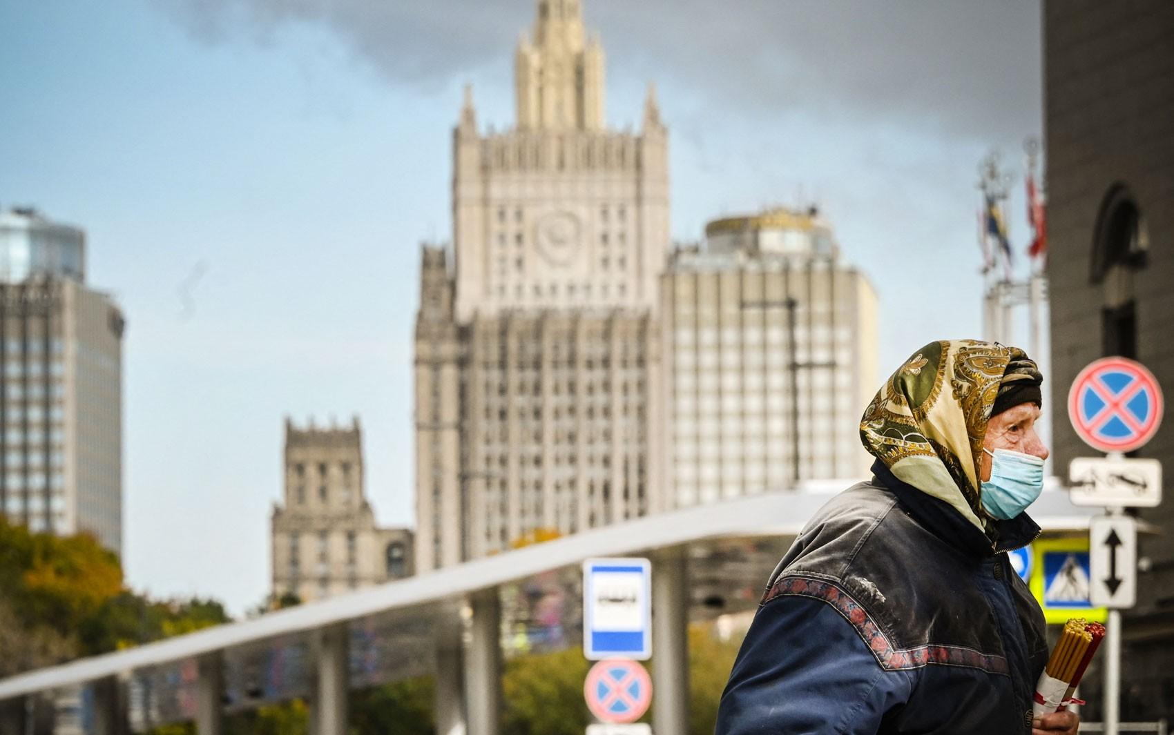 Rússia estabelece novo recorde de mortes por Covid-19 desde início da pandemia