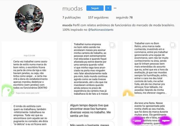 Muodas (Foto: Reprodução Instagram)