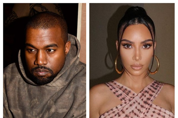 Kanye West e Kim Kardashian (Foto: Getty Images/Instagram)