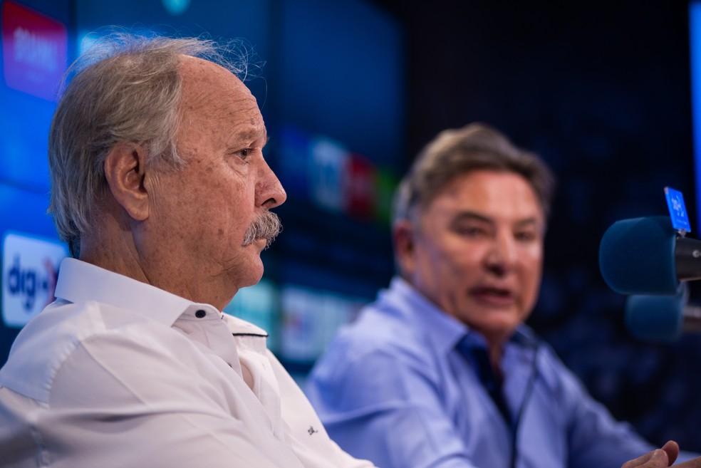 Wagner Pires de Sá apontou Zezé Perrella como seu eventual substituto — Foto: Bruno Haddad