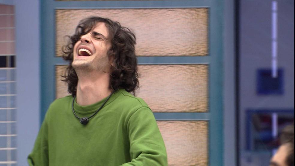 Fiuk e Rodolffo cantam sertanejo na Xepa do BBB21 — Foto: Globo