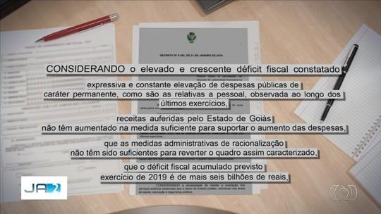 Governo de Goiás decreta calamidade financeira