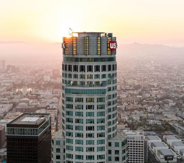 EDIFICIO | Com 70 andares está localizado no centro de Los Angeles (Foto: OUE Skyspace LA/ Reprodução)