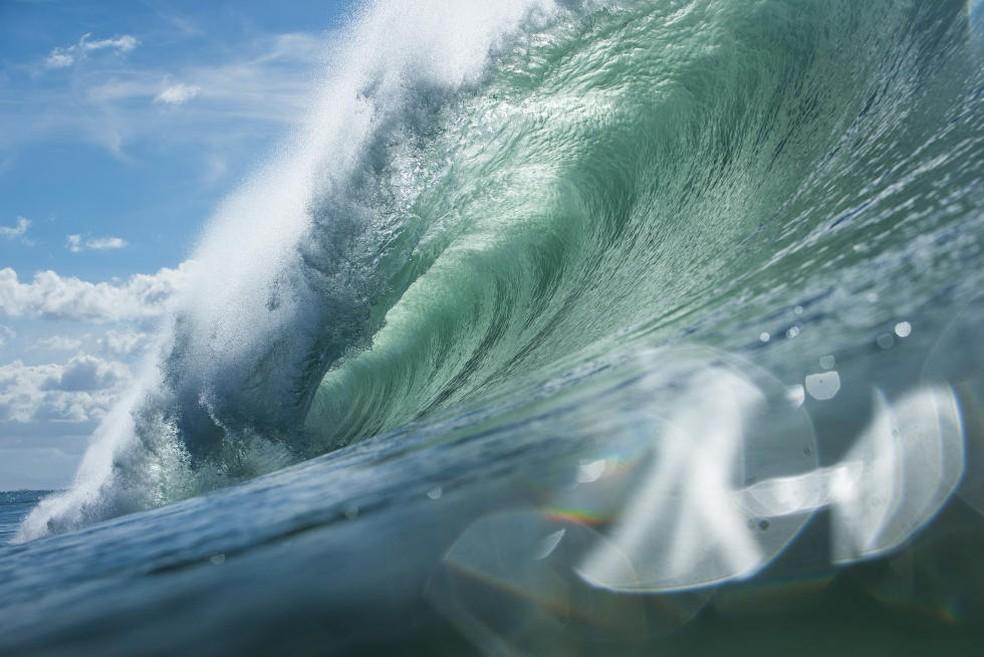 Hossegor surfe primeira fase (Foto: Divulgação/WSL)
