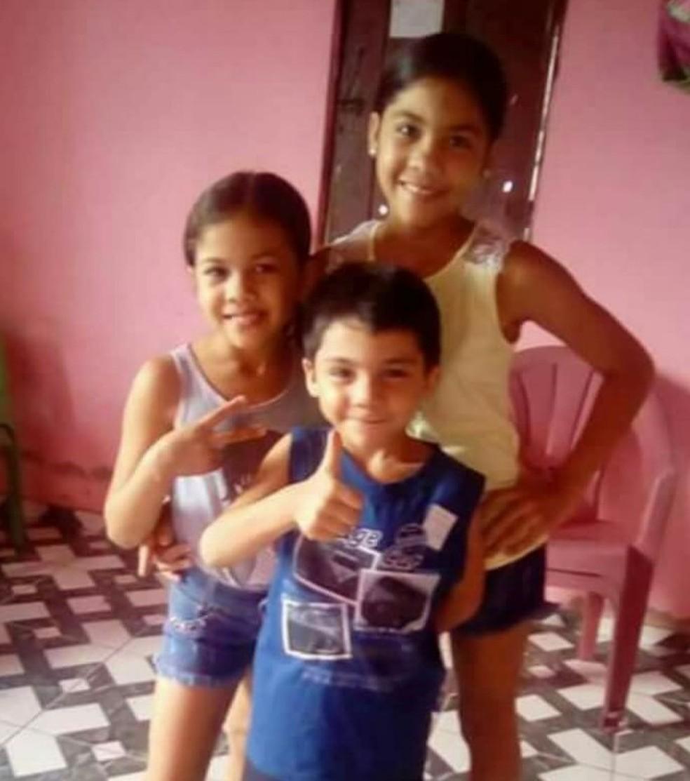 Três crianças e mulher morreram incendiadas em casa em Ipueiras, no Ceará (Foto: Arquivo pessoal)