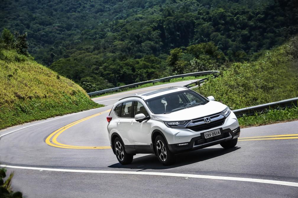 Honda CR-V 2018 (Foto: Honda/Divulgação)