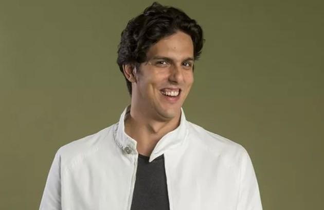 Na terça-feira (3), Pablo (Rafael Infante) revelará a Mario (Lucio Mauro Filho) que o filho de Nana (Fabiula Nascimento) é dele (Foto: TV Globo)