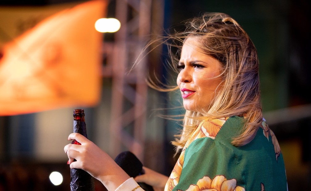 Marília Mendonça em show do projeto 'Todos os cantos — Foto: Divulgação