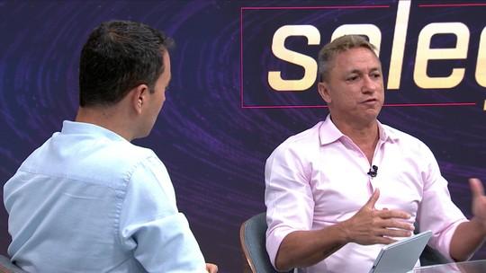 """""""Dener seria melhor do que Neymar"""", afirma Paulo Nunes no Seleção SporTV"""