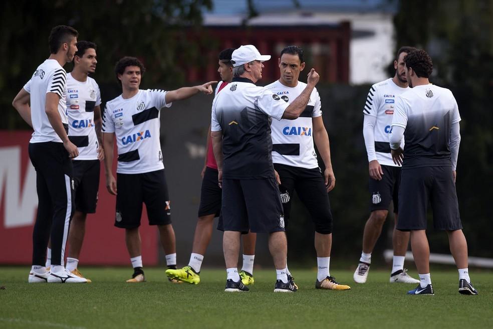 Santos de Levir Culpi tem chance de fazer história (Foto: Ivan Storti/Santos FC)