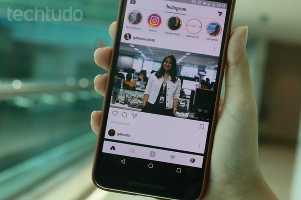 """Novo botão """"Mute"""" deixa silenciar perfis que você não quer ver no feed e nas histórias (Foto: Gabrielle Lancellotti/TechTudo)"""