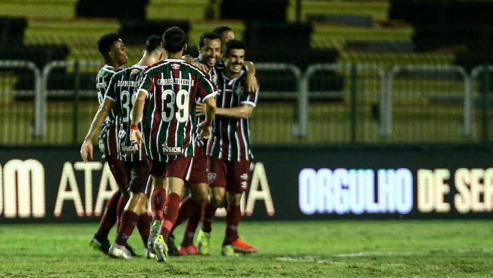 Evolução do Flu ainda precisa ser colocada à prova para a Libertadores — Foto: Lucas Marçon / Fluminense FC