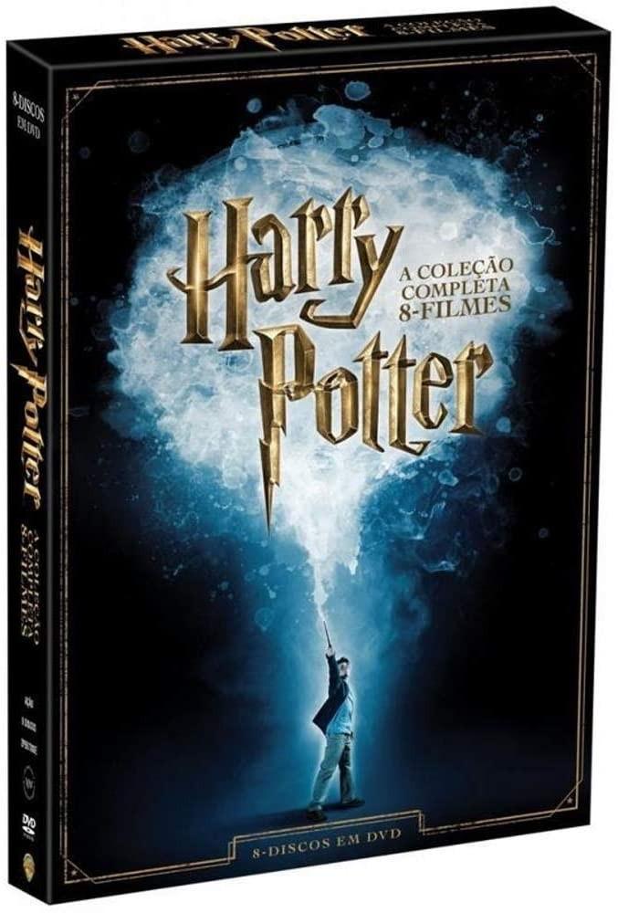 O combo de oito filmes da saga Harry Potter pode ser adquirido pela Amazon (Foto: Divulgação/Amazon)