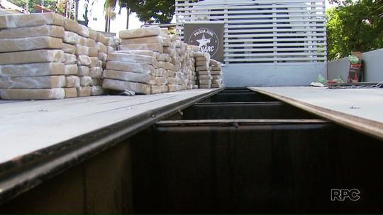 Denarc apreende quase meia tonelada de maconha na região de Maringá
