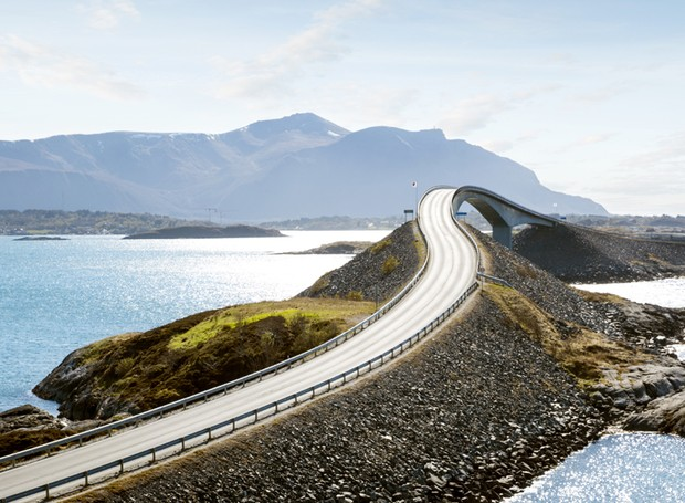 Atlantic Road, na Noruega (Foto: Thinkstock)