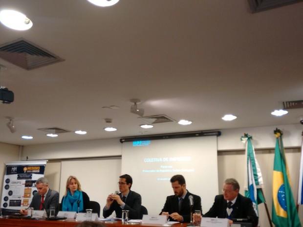 MPF faz duas novas denúncias relacionadas à Operação Lava Jato em Curitiba (Foto: Thais Kaniak/ G1)