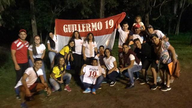 Família de Guillermo Paiva em Toledo