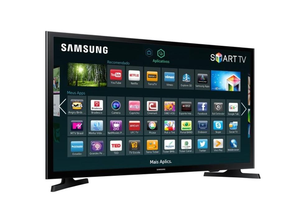 Com preço abaixo dos R$ 1.000, smart da Samsung é uma boa opção de compra (Foto: Divulgação/Samsung)