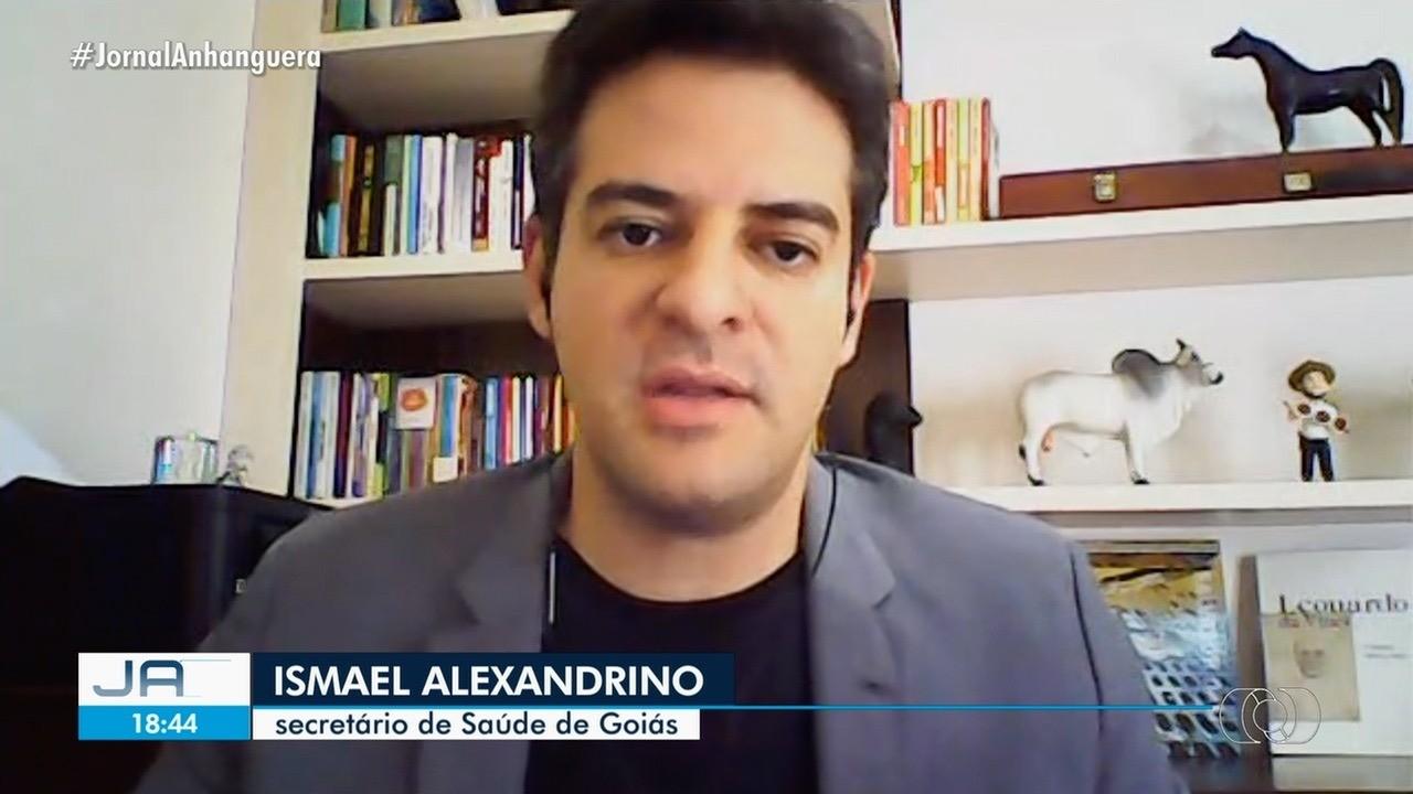 Secretário de Saúde de Goiás diz que protocolo de vacinação não muda