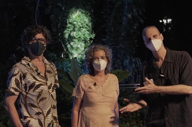 Pedro Luís, Jane Reis e Mário Diamante (Foto: Pedro Faerstein)