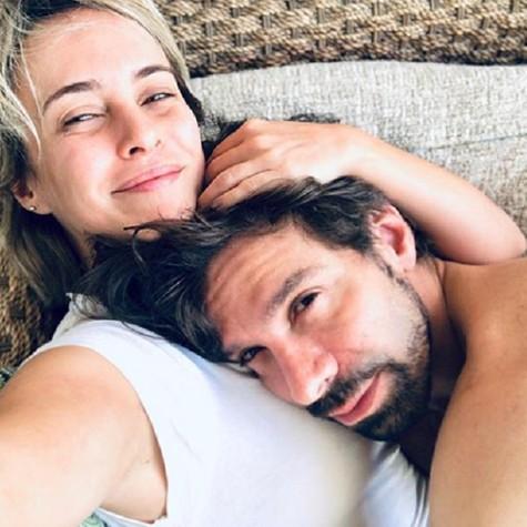 Fernanda Nobre e o marido, José Roberto Jardim (Foto: Reprodução)