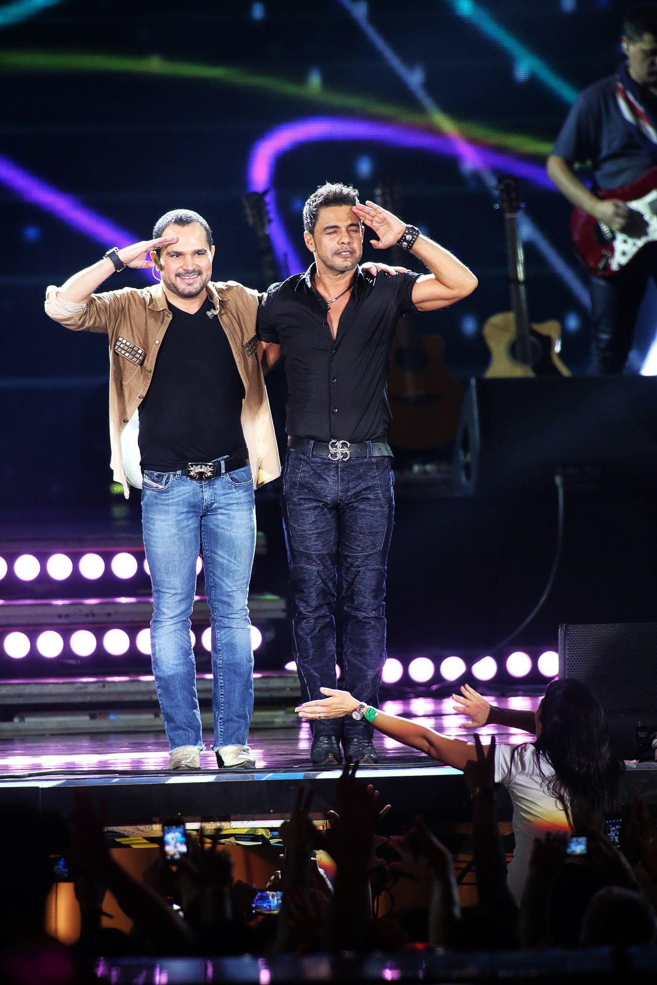 Zezé Di Camargo e Luciano (Foto: Globo/ Rubens Cerqueira)