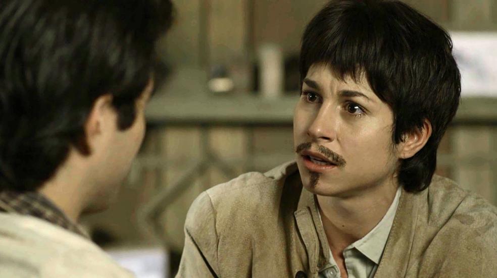 Mário fica PASSADO com a revelação do amigo (Foto: TV Globo)