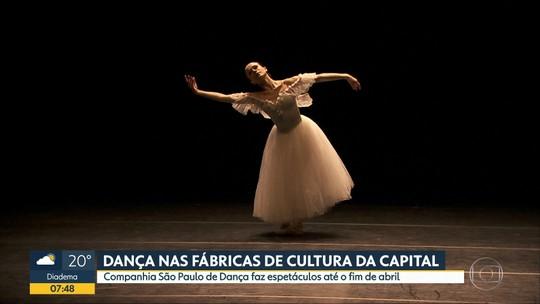 São Paulo Companhia de Dança realiza apresentações gratuitas nas Fábricas de Cultura