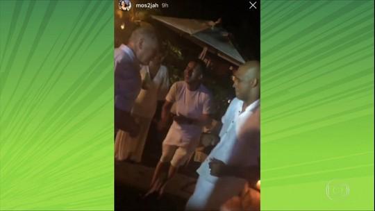 Mais festa! Jogadores do Palmeiras se divertem em casamento de Alexandre Mattos; veja fotos