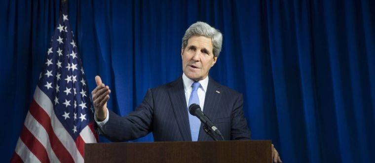 John Kerry, durante conferência em Londres