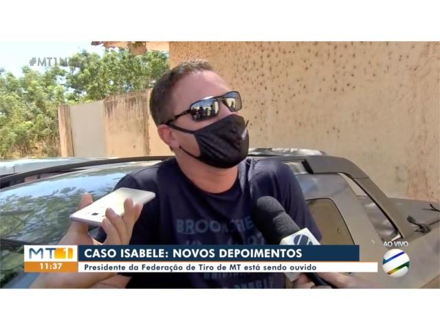 Presidente da federação de tiro presta depoimento sobre caso de menina morta pela amiga em Cuiabá