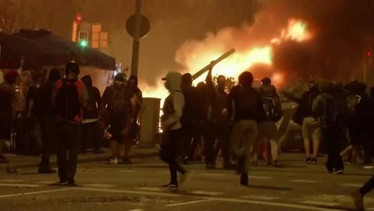 Quinto dia de protestos na Espanha termina com 31 presos e 89 feridos