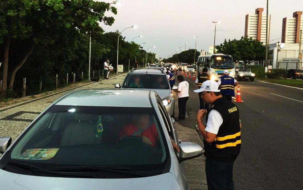 Ao todo, foram 4.875 multas desta natureza, o que corresponde a 22,30% de todas as infrações de trânsito catalogadas no estado — Foto: Detran-RN/Divulgação