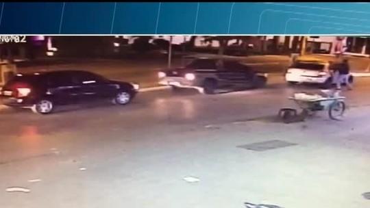 Foragido por homicídio é baleado após tentar atropelar policiais em Montes Claros