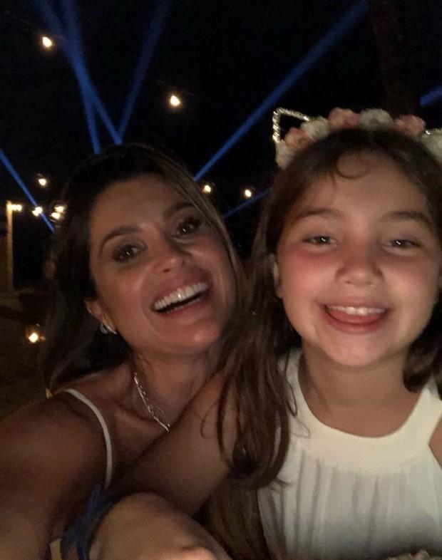 Flavia Alessandra e a filha, Olivia (Foto: Reprodução / Instagram)