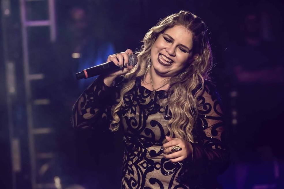 Produtor denuncia que confusão aconteceu durante show da cantora Marília Mendonça — Foto: Divulgação